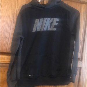 Boys hooded Nike sweatshirt